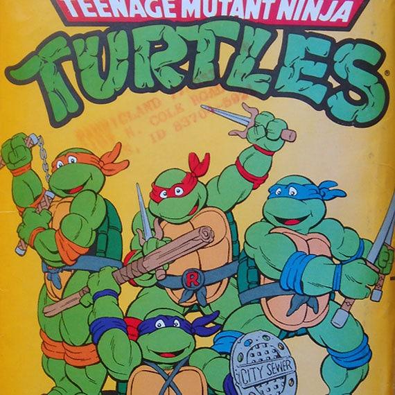 Teenage Mutant Ninja TURTLES COSTUME sewing pattern (size s to xl