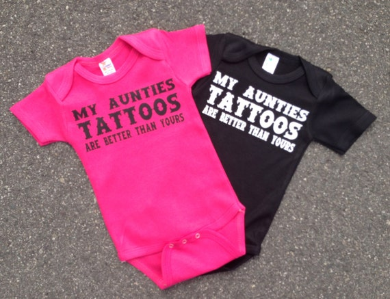 Cute Aunt And Nephew Quotes: Items Similar To My Aunties Tattoos Are Better Than Yours