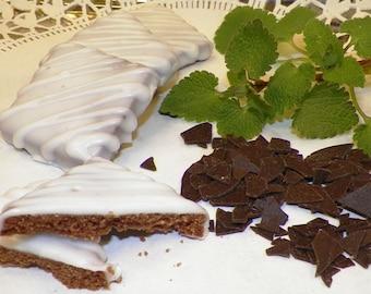 Oma Gisi's Chocolate Mint Cookies(Box of 24)
