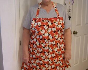 Plus size Apple apron  size 22 - 26