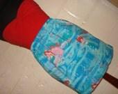 Disney Little Mermaid Skirt High Waisted Ladies Mini Skirt Handmade and Ready to Ship