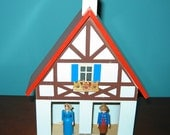 Erzgebirge EAST German WEATHER HOUSE A Frame All Wood Excellent