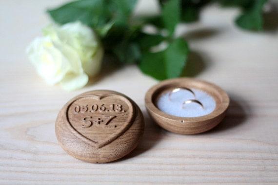 Wedding ring box wedding ring box custom ring box wood for Custom engagement ring box