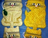Special Order - Cat Zipper Pouches