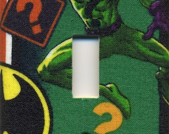 The Riddler Single Light Switch Plate