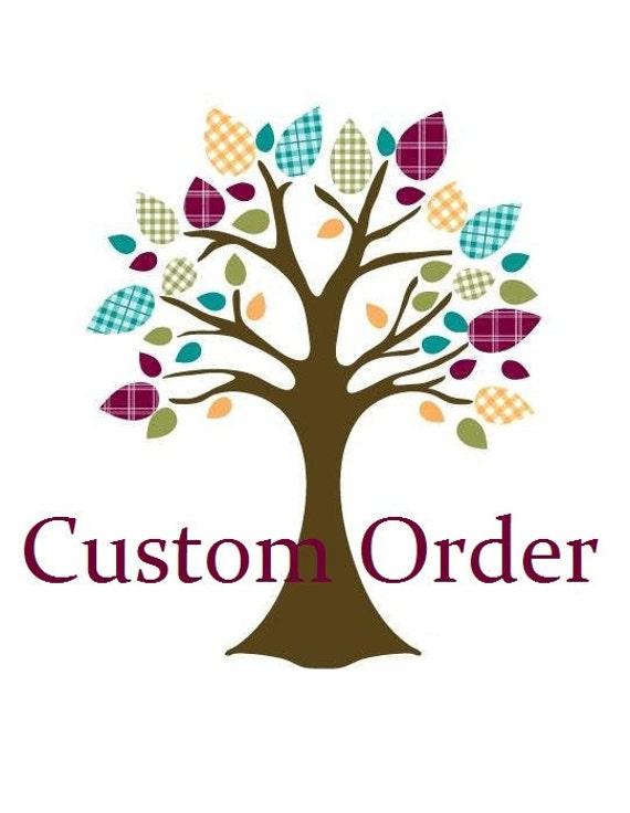 Custom order for Elizabeth (iviebaby)