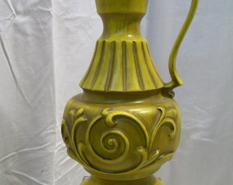 PRICE REDUCED Heagar Pitcher shapped Vase