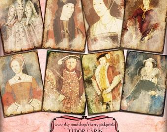 ROYAL collage sheet digital background, 8 designs, scrapbook supplies collage digital download