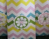 PRINTABLE Party Favor Tags - Easter Chevron Collection - BellaGrey Designs