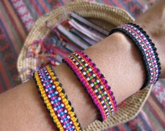 Karen Woven Bracelet /Hippie /Boho (Free Shipping With Another Items) /Wholesale
