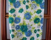 """Vintage linen tablecloth - 49"""" x 49"""" - excellent condition"""