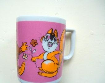 Vintage Stylecraft Porcelain Coffee Mug 1970s