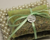 Mint Green Wedding Favor, Mint Green Bridal Shower Favor, Lavender Sachet