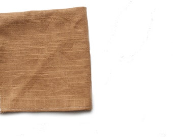 Faux Burlap Pocket Square