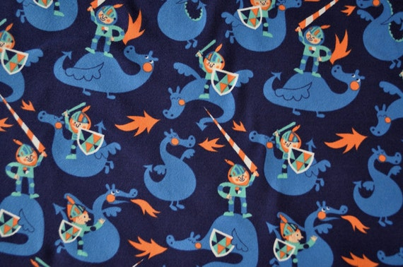 Unavailable listing on etsy for Dragon fabric kids