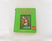 Little Red Riding Hood Vintage 1967 Purnell Happy Time Book