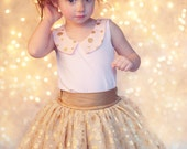 BUNDLE: Madelyn Top & Ellie Skirt/Leggings PDF Patterns and Tutorials Set, {Tulle Skirt Style} All Sizes 2T-10 years Included.