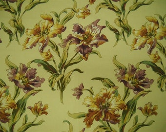Lee Jofa - Home decor fabric-sample- Stretton Print- 24.5x24