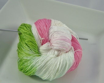 Size 20 or 40 - Lizbeth Tatting Thread -  Hand Dyed - Spring Flowers - Your Choice of Amount - HDT