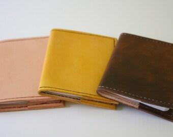 Leather Pocket Journal