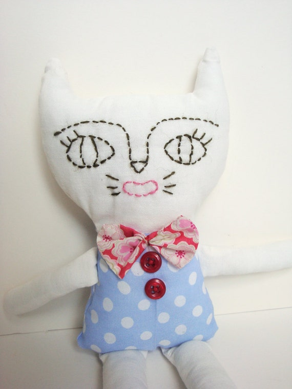 SALE! Cat Soft Toy - Herb
