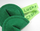 Lucky Charm Fortune Cookies Organic Catnip Cat Toy