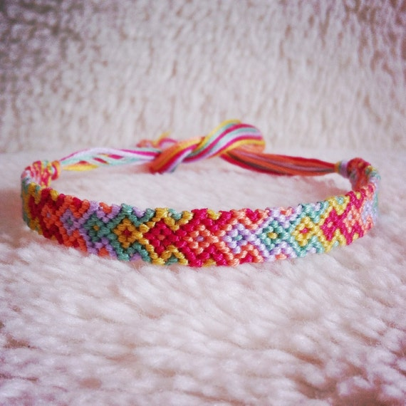 Embroidery floss bracelets easy makaroka