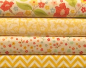 The Sweetest Thing - Fat Quarter Bundle in Yellow - Zoe Pearn for Riley Blake