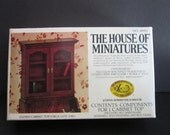 House of Miniatures Closed Cabinet Top Kit 40001