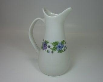 Vintage Creamer Impromptu iroquois Pattern Wild Violet rare