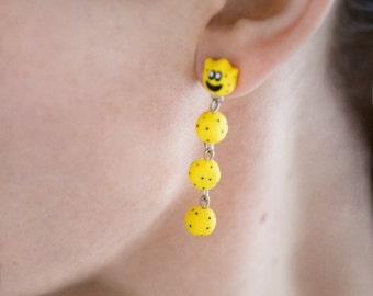 Nintendo Mario Cactus Dangle Earrings