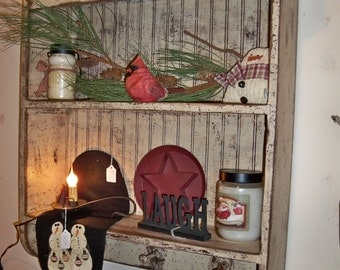 New Brunswick shelf with pegs