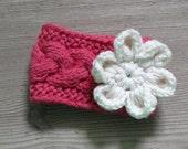 knit baby headband / Cable knit headband / Knit Baby Headband /Baby Knit Headband / Baby Girl Headband, Newborn Knit Headband, Knit newborn