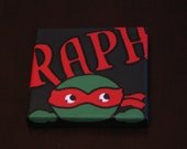 5in x 5in Raphael tmnt Painting