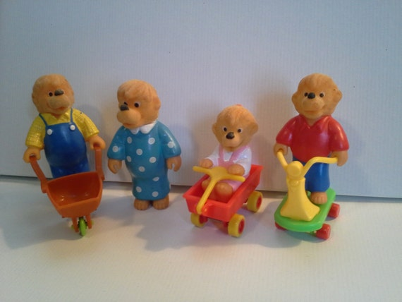 Berenstain Bears Happy Meal Toys, 1987