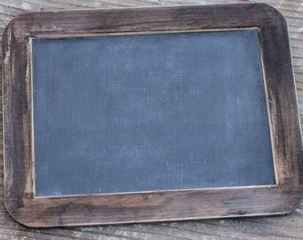 "Rustic Chalkboard Sign Photo Prop Slate, 4"" X 6"""