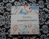 Pampered Pooch charm pack by Chloe's Closet for Moda