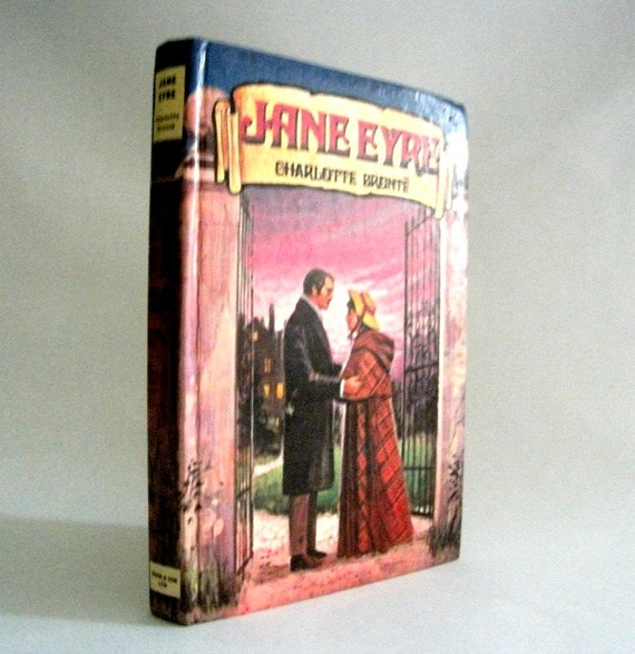RESERVED FOR SONIA Vintage 1960s Jane Eyre Hardback Book by Charlotte Bronte