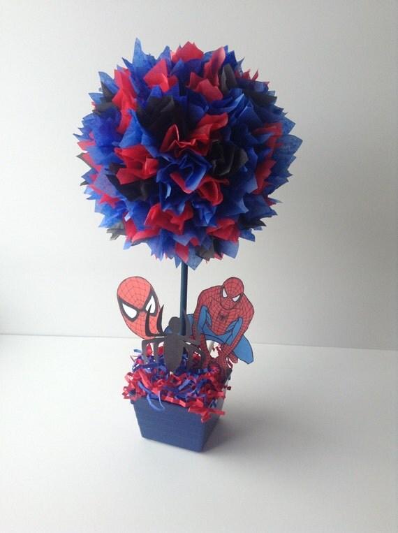 Spiderman Birthday party Decoration centerpiece Spider Man