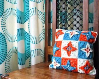 Crochet Pattern Stella Cushion - PDF Instant Download