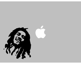 Bob Marley ICON decal: For Laptop, Car etc..