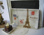 Letter to Paris Tray for Dollhouse