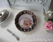 Greenwhich Plate for Dollhouse