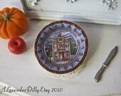 Spooky House Plate for Dollhouse