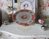 Lady Carlyle Tray Coral for Dollhouse