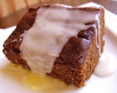Old Fashioned Gingerbread with Lemon Sauce
