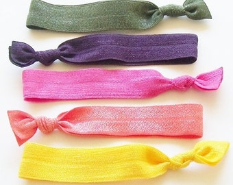 It's A Tie -  Lucky Girl Hair Ties - As Seen on MSN Glo Magazine - 10 Under 10 Gift Guide