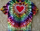 Tie Dye Heart, Child X-Large