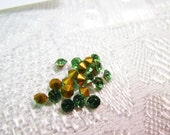 For Jessica Only: Peridot Colored Rhinestones Sizes 8.5 and 10   1Gross Each