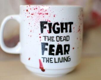 The Walking Dead Blood Spatter Mug